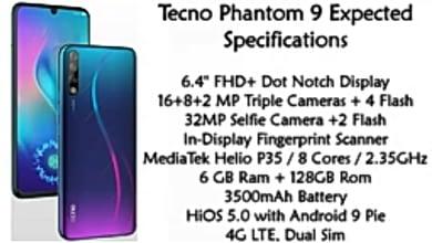 Photo of Tecno Phantom 9 Powered 4 cameras | 128 RAM 32MP Selfie