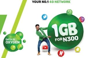 Glo 1GB for N300