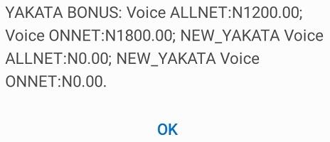 Glo Yakata Data Bonus