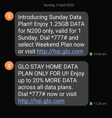 Glo Weekend Data Plan