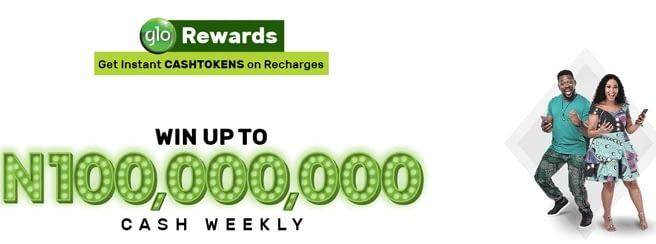 Glo CASHTOKEN Reward
