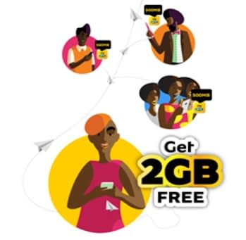 MTN 50GB Free Unlimited Data
