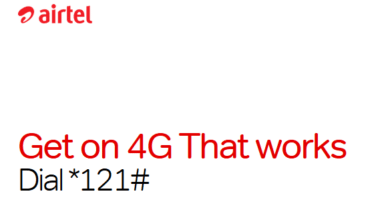 Photo of Airtel 4G: Simple way to Upgrade to 4G with 4GB free data