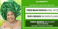 Glo berekete 100% bonus