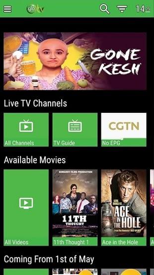 Glo TV channels