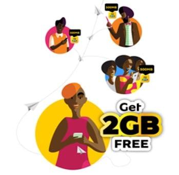 MTN Free 4GB Data