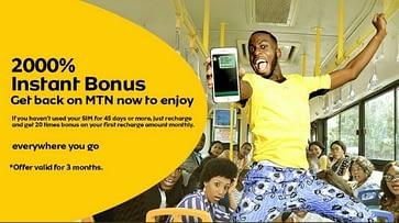MTN 2000% bonus