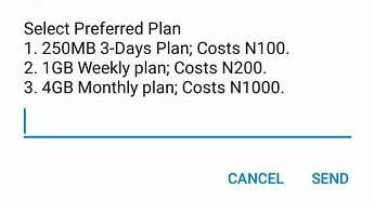 MTN Free 4GB, 1GB for as low as N200