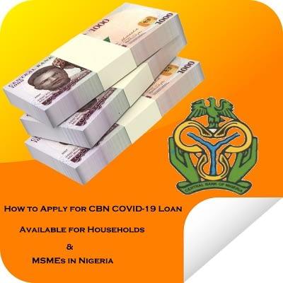 CBN Reopen COVID-19 Loan