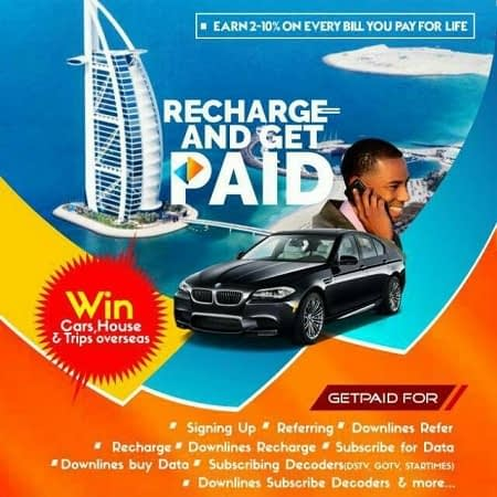 make money online with Recharge and Get Paid