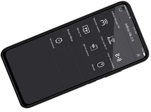 Infinix Smart TV remote