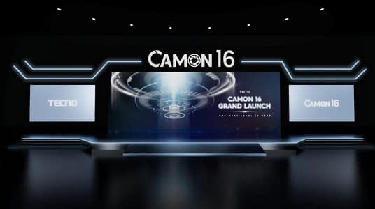 tecno smartphone Camon 16