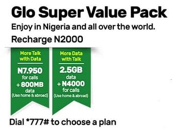 Glo Super Value