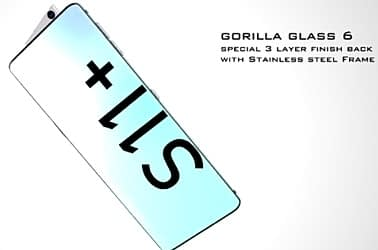 """S11+ Gorilla Glass 6 And 6.39"""" HD display"""