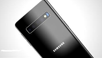 Samsung S11+ four rear cameras
