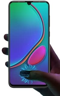 Phantom 9 In-display fingerprint sensor